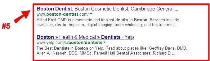 Google Organic Results