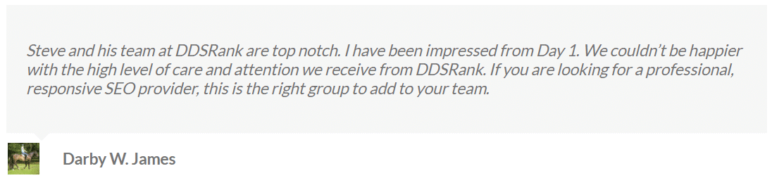 ddsrank client reviews