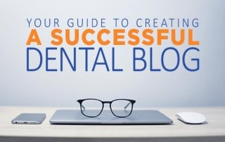 creating a dental blog